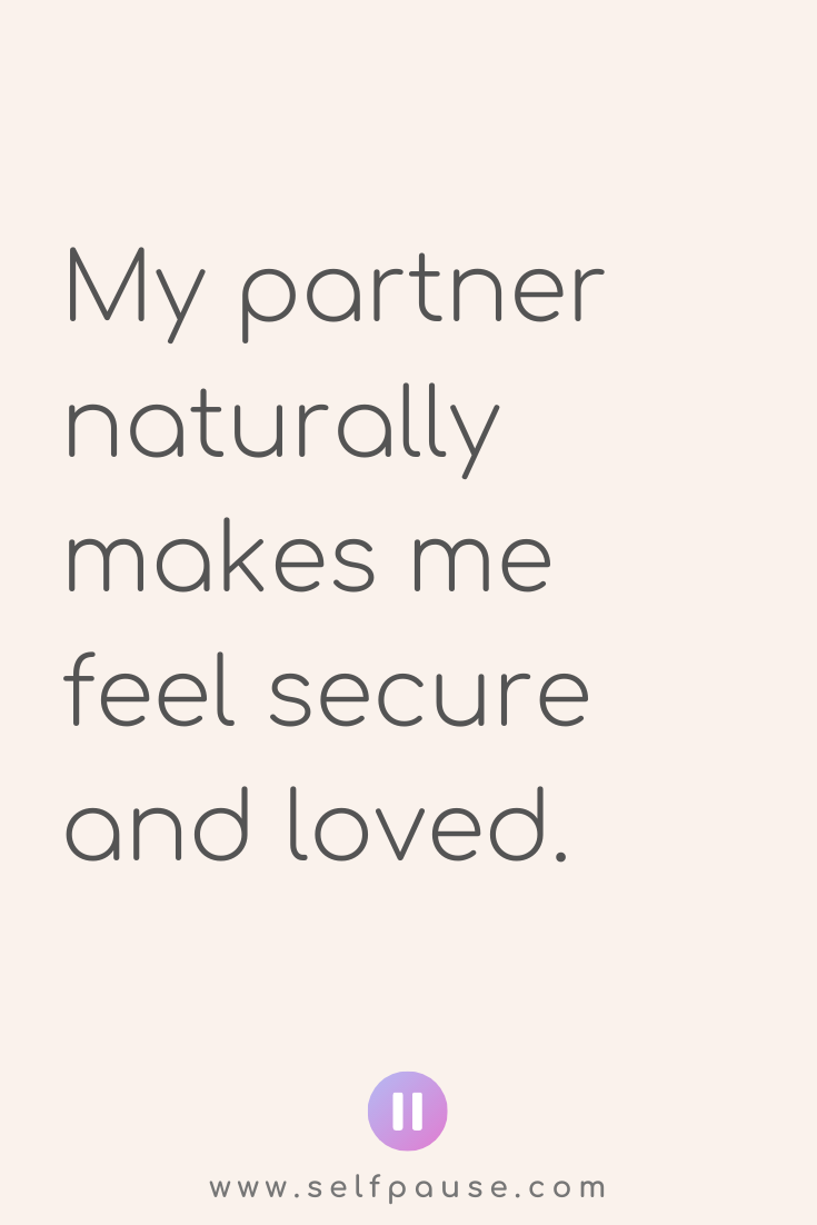 Relationship Affirmations – Selfpause