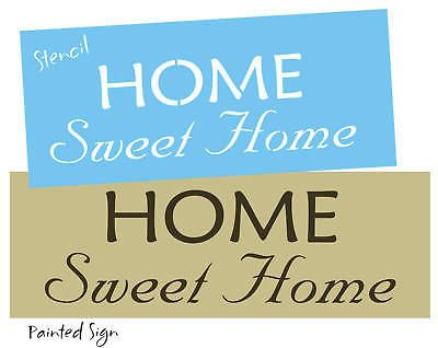 Joanie 5 pc Stencil Dream Hope Believe Freinds Family Country Prim Home Signs