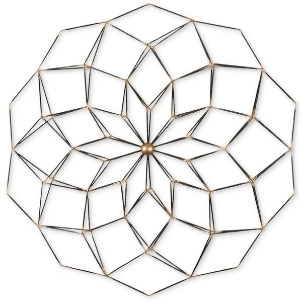 Uttermost Dorrin Wall Decor ($198) ❤ liked on Polyvore featuring home, home decor, wall art, aged black, geometric wall art, uttermost home decor, geometric home decor, floral wall art and eclectic home decor