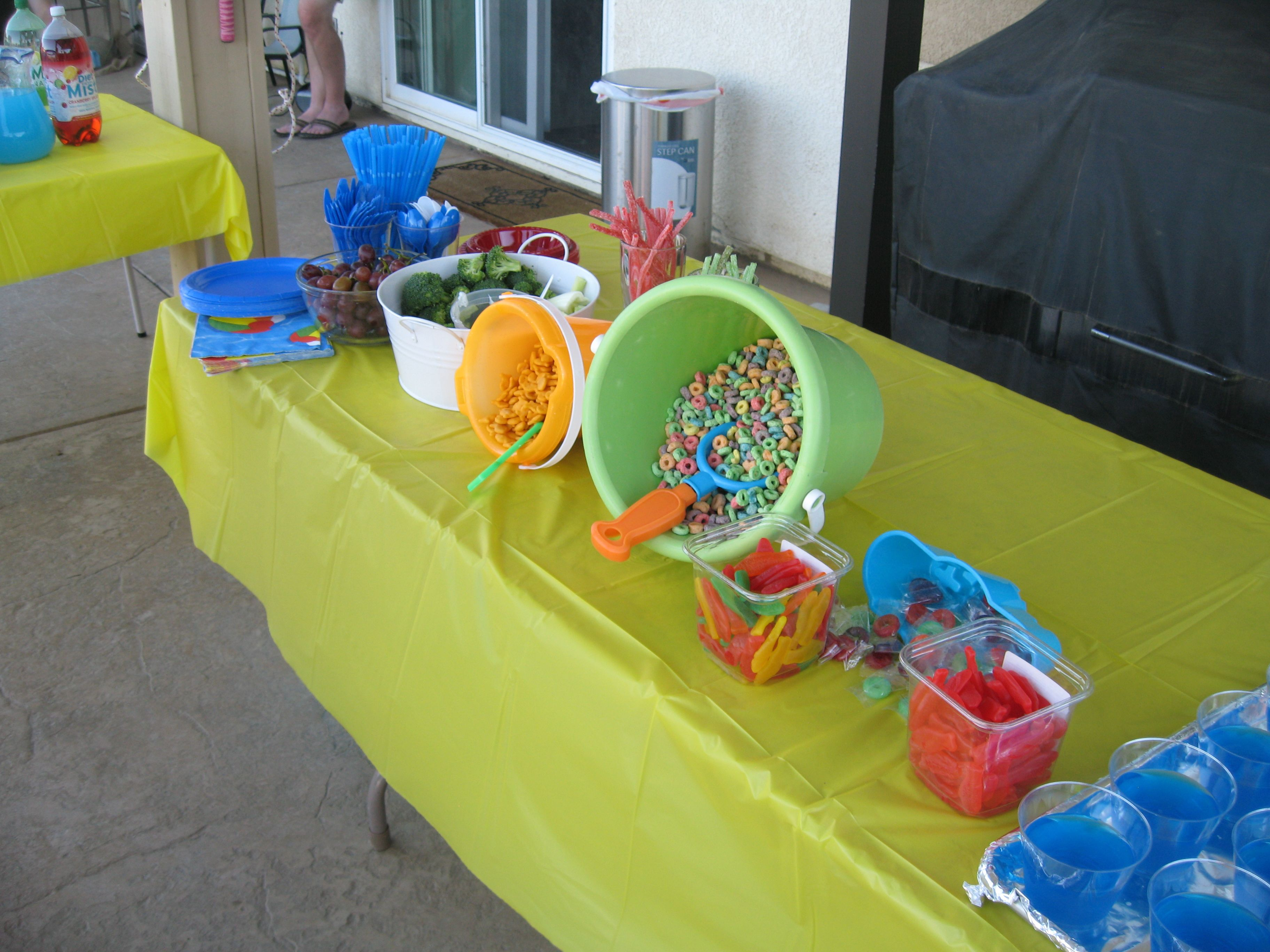 Pool Party Appetizers Ideas how beautiful is this backyard bbq table setting display your summer bbq menu for Find This Pin And More On Pool Party Ideas