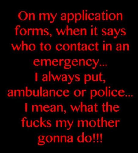 haveurattitude on my application forms Funny Pinterest - application forms