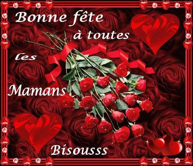 Bonne Fete A Toutes Les Mamans Bisoussss Fetedesmeres Fleurs Roses