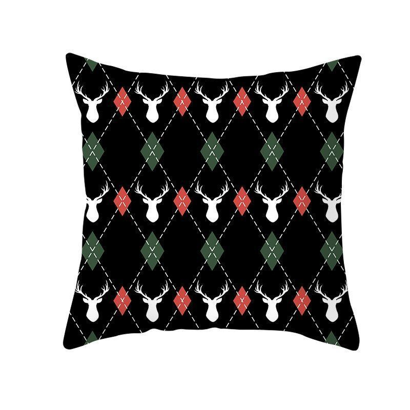 Best Chance for new arrival Christmas deer pillowcase red green holiday christma  Best Chance for new arrival Christmas deer pillowcase red green holiday christma  Best C...