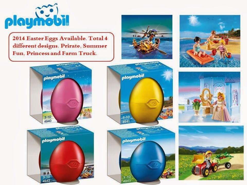 Brickstoy: Playmobil Year 2014 Version Easter Eggs Sets avail...