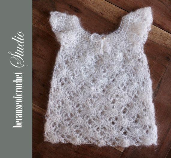 Pdf Crochet Pattern Baby Girl Top Size 3 5 Months Skill Level