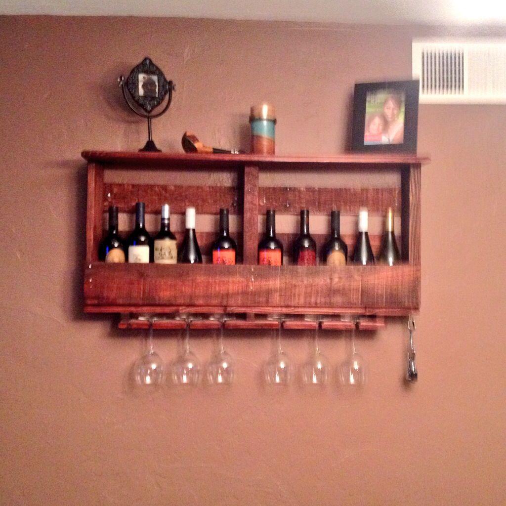 Pallet Wine Rack Diy Wine Rack Decorating Shelves Wood Shelves Decor