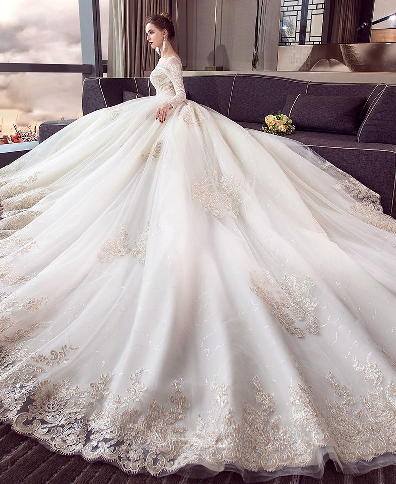 Pin On Luxury Bridal Wedding Dress