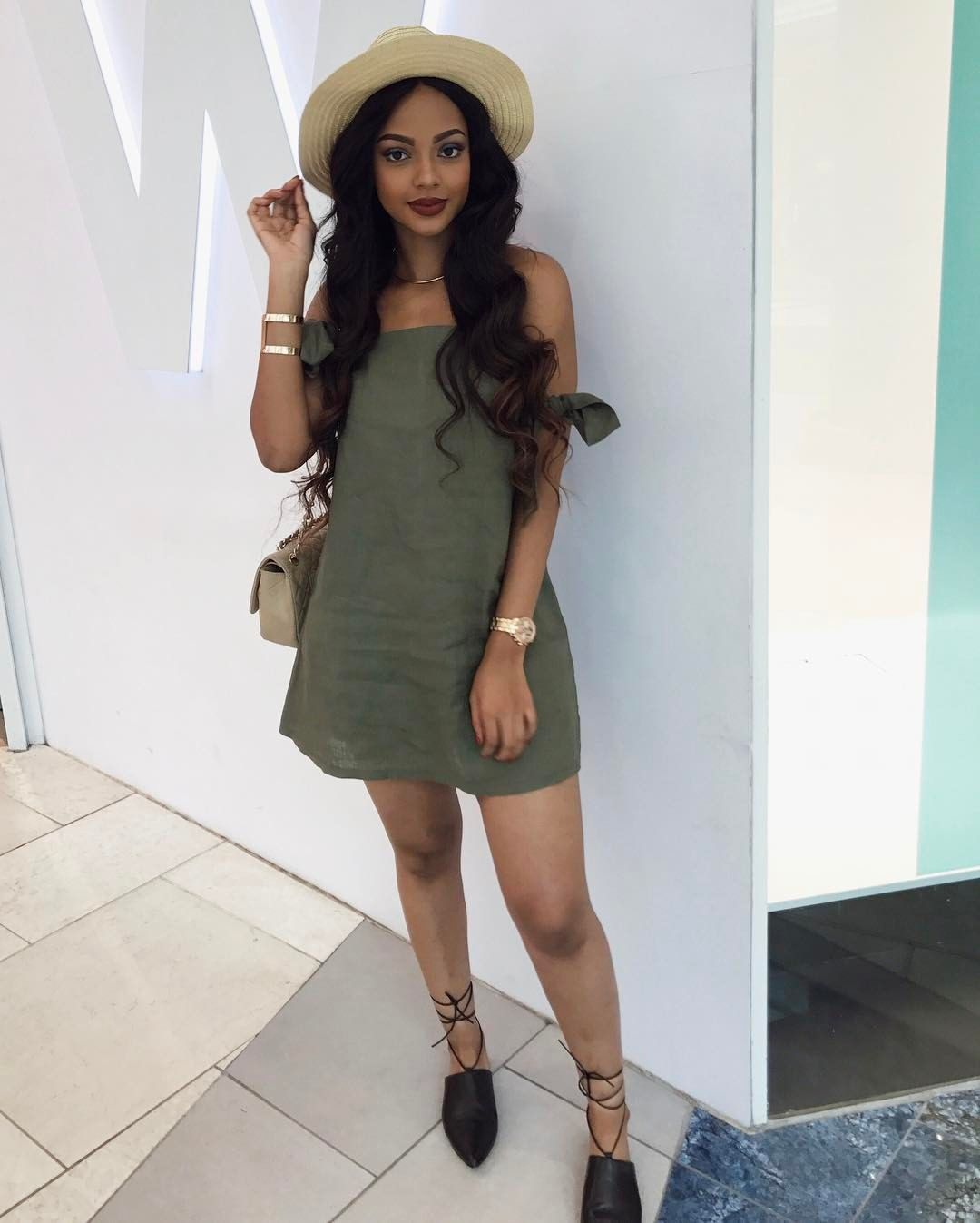 7811 Likes 60 Comments - Mihlali Ndamase (@mihlalii_n) on Instagram u201cHow cute is my dress ...