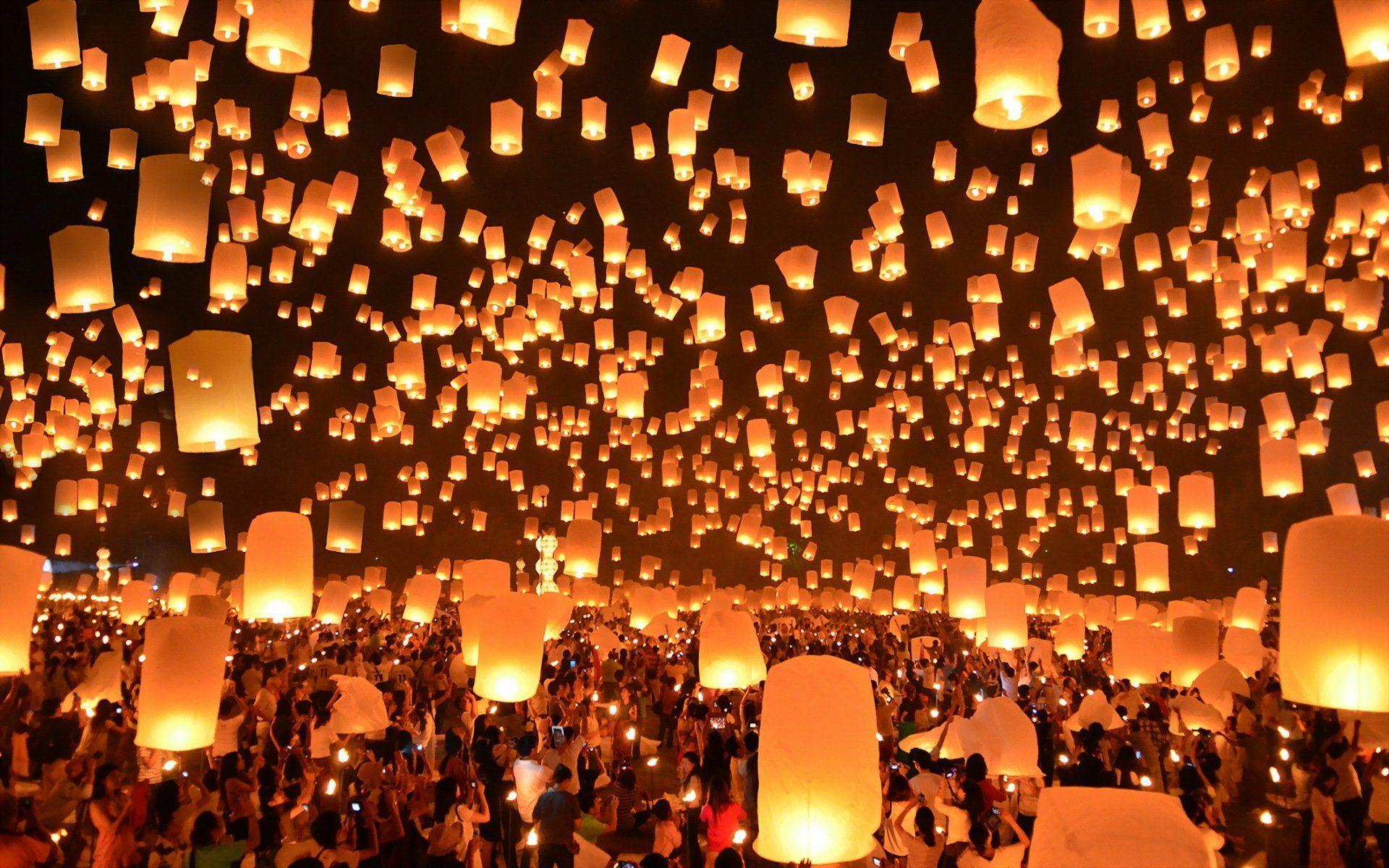 floating-lanterns-festival-thailand.jpg (1920×1200) | sky lantern ... for Lantern Festival Hd  55nar