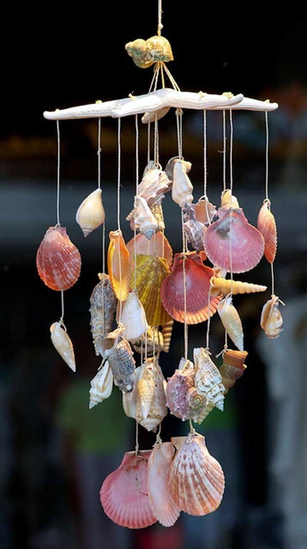40 Beautiful And Magical Sea Shell Craft Ideas Diy Wind Chimes