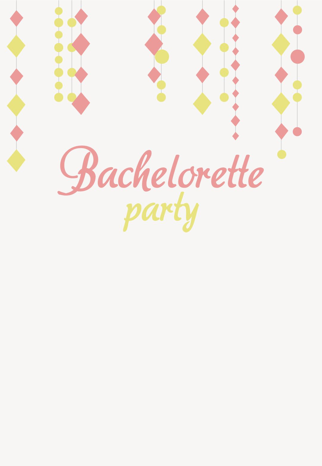 Bachelorette Party #Invitation - #Printable Customizable and Free ...