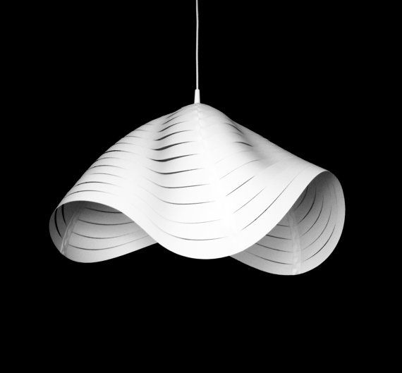 I Have Designed This Unique Lamp Shades Made From Polypropylene