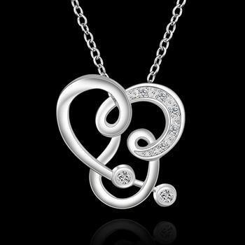 Купить товарLknspcn505 / / оптовая продажа горячая распродажа популярные цена от производителя ожерелье, мода 925 ювелирные изделия цепи посеребренные кулон ожерелье в категории Цепина AliExpress.