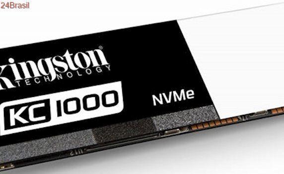 Kingston apresenta linha SSDNow KC1000, com SSDs no formato M.2 de até 960 GB