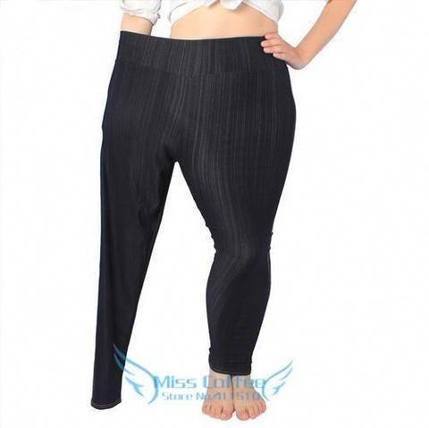 c1eeeaf845ff4 Free Shipping 2018 Female Super Stretch Pencil Pants Women High Elasticity  Leggings Imitated Jeans Fashion Pant Plus-Size L-5XL  Jeans