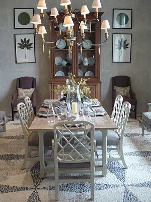 Amazing Love This Dining Room Suzanne Kasler Piedmont Dining Table Caraccident5 Cool Chair Designs And Ideas Caraccident5Info