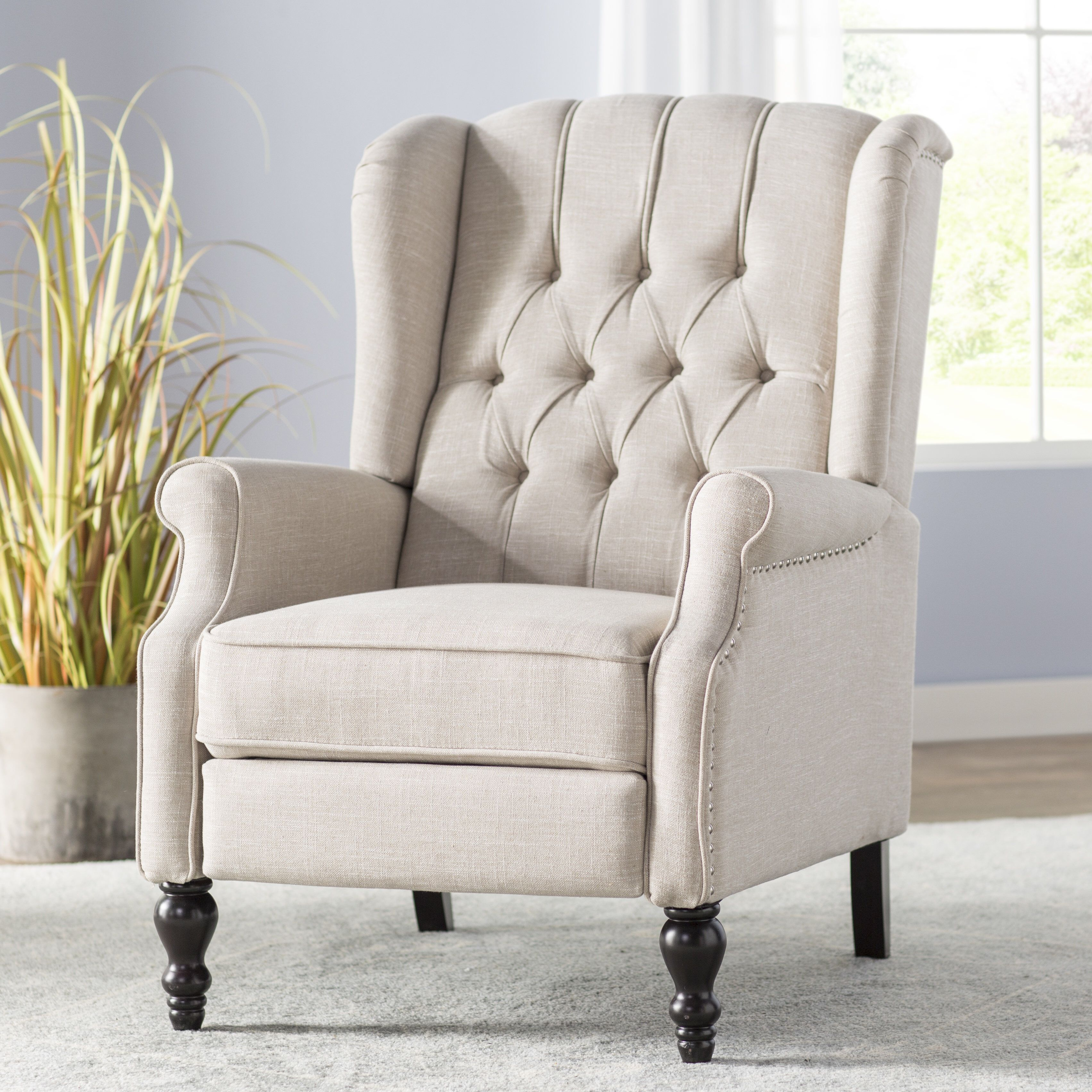 Cool Henley Manual Recliner Living Room Recliner Furniture Bralicious Painted Fabric Chair Ideas Braliciousco
