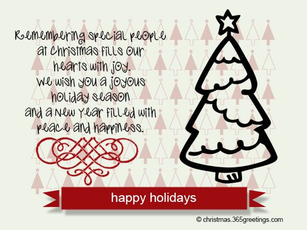Happy Holidays Messages And Wishes Christmas Celebration All About Christmas Happy Holidays Message Holiday Messages Happy Holiday Cards