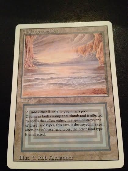 Revised Artist Proof Underground Sea Magic: the Gathering(MTG) MINT Unaltered!!
