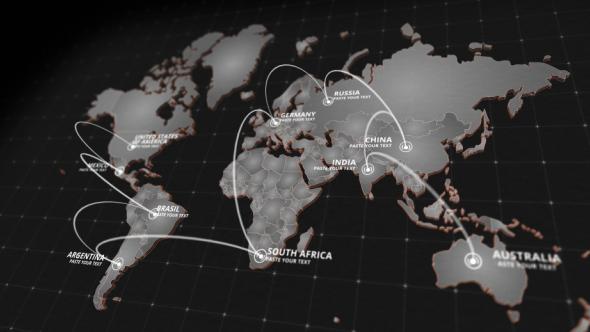 World map kit infographic world map kit gumiabroncs Images