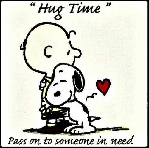 Everyone could use a hug!