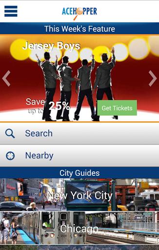 Apps like Orbitz, Kayak or Priceline will help you get