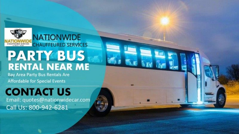 Bay Area Party Bus Rentals Are Affordable for Special