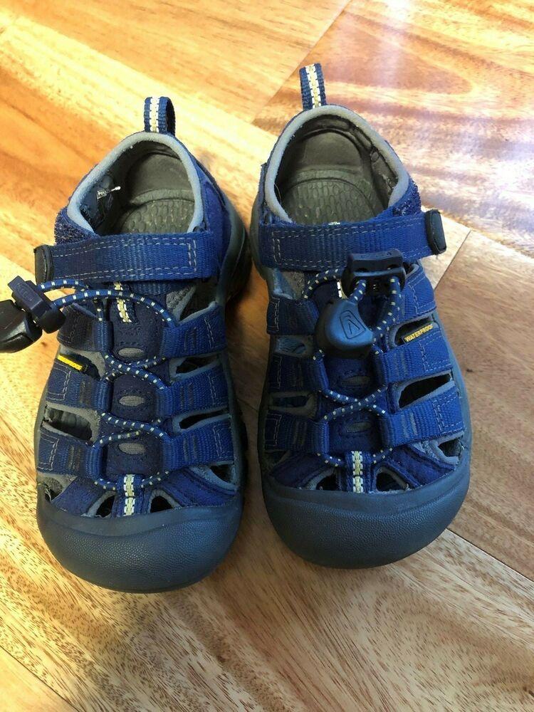 3cde3376341 eBay Sponsored) KEEN NEWPORT H2 Kids Youth Size 10 Blue Sport ...