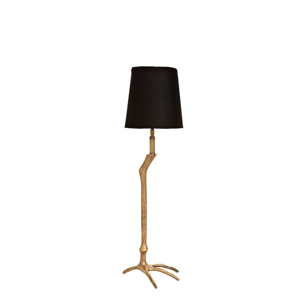 Elegant And Unusual Vintage Brass Finish. Add Some Striking Home Lighting  Style With This Classic Metal Bird Foot Table Lamp. Each Lamp Comes With  Black ... Nice Look
