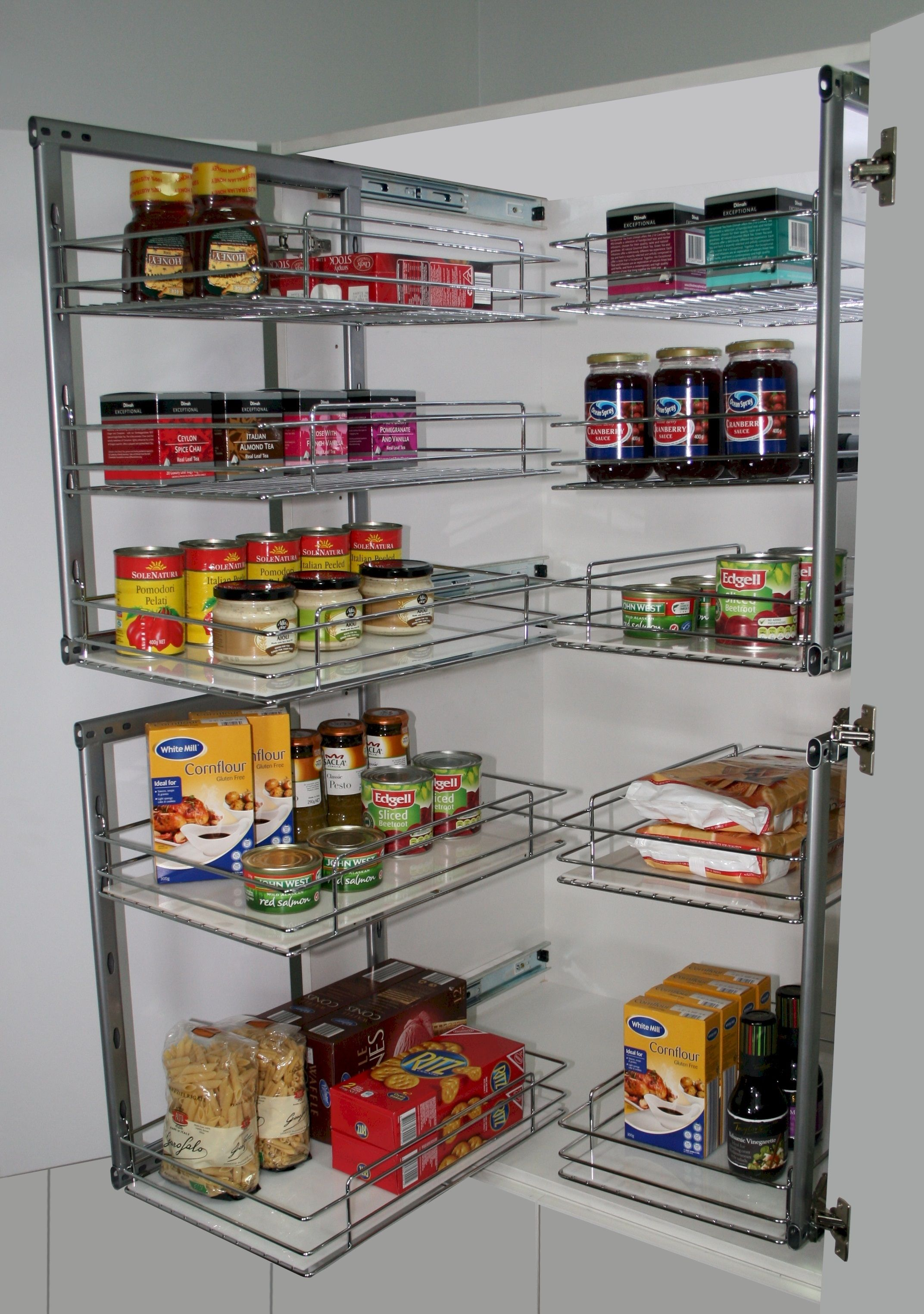 Pull Out Pantry For New And Existing Kitchen Cabinets Tansel Storage Pantry Storage Pull Out Kitchen Storage Kitchen Storage