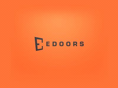 Edoors Logos Design Logo Design Inspiration Lettering