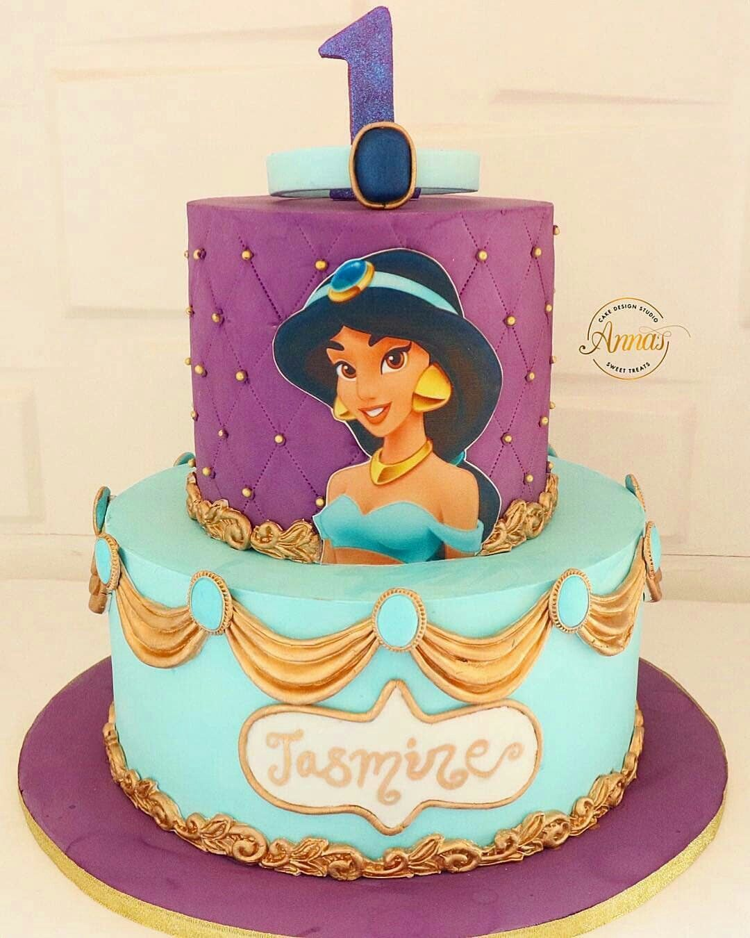 princess jasmine cake ideas