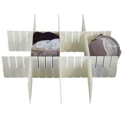 Schubladeneinsätze variable schubladenteiler in schubladeneinsätze bei lakeland