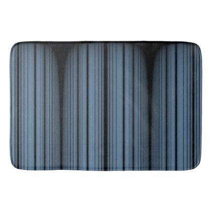 Rocky Blue Bathroom Mat - bathroom idea ideas home & living diy cyo bath
