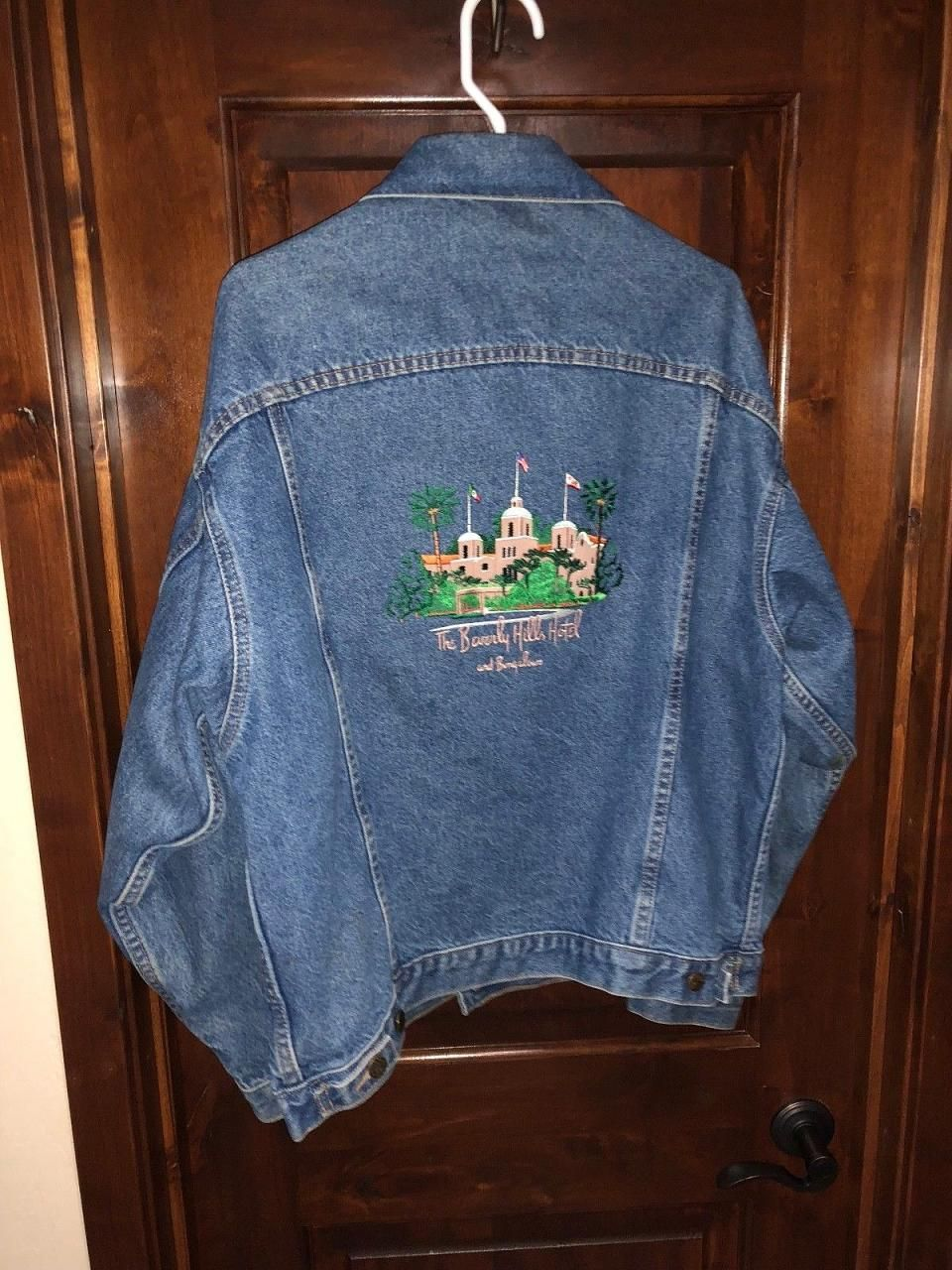 The Beverly Hills Hotel & Bungalows Denim Blue Jacket