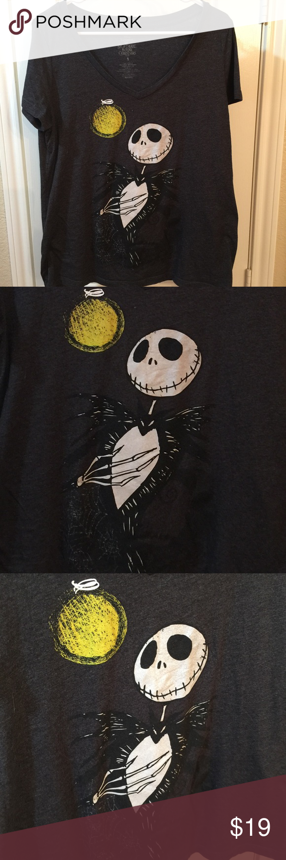 2fa30c43957ba ⭐️SALE⭐ Nightmare Before Christmas Shirt Torrid EUC Size 1 Disney s  Nightmare Before Christmas T Shirt ⭐ Shirt is approximately 26