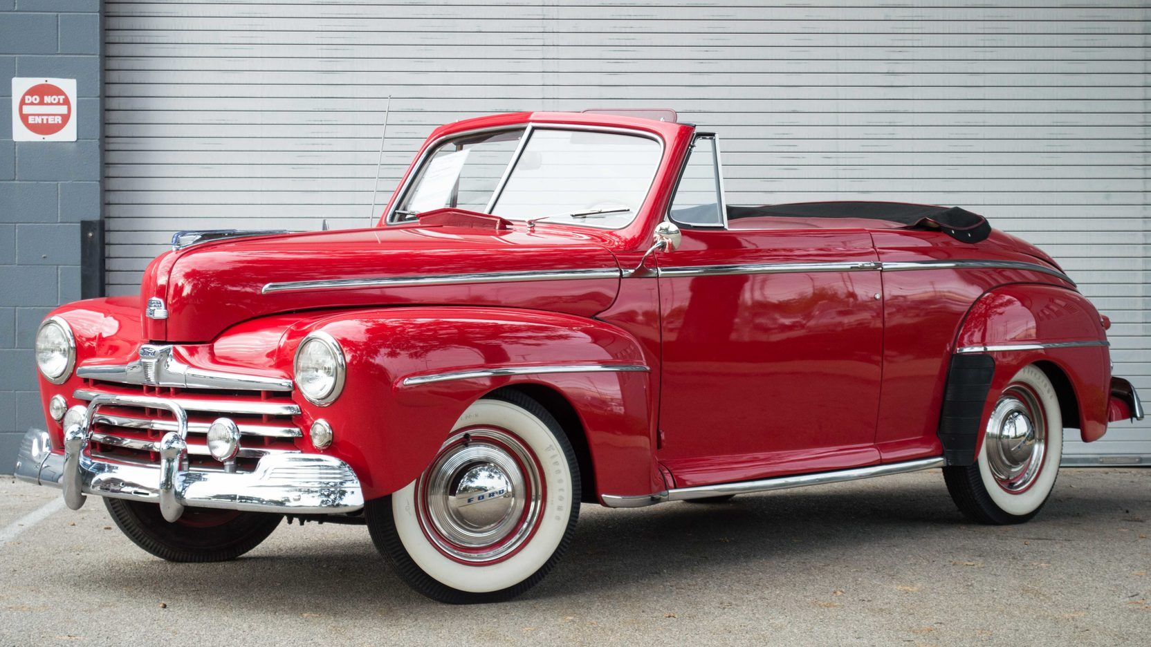 1948 Ford Super Deluxe Convertible | S161 | Austin 2015 | Mecum Auctions