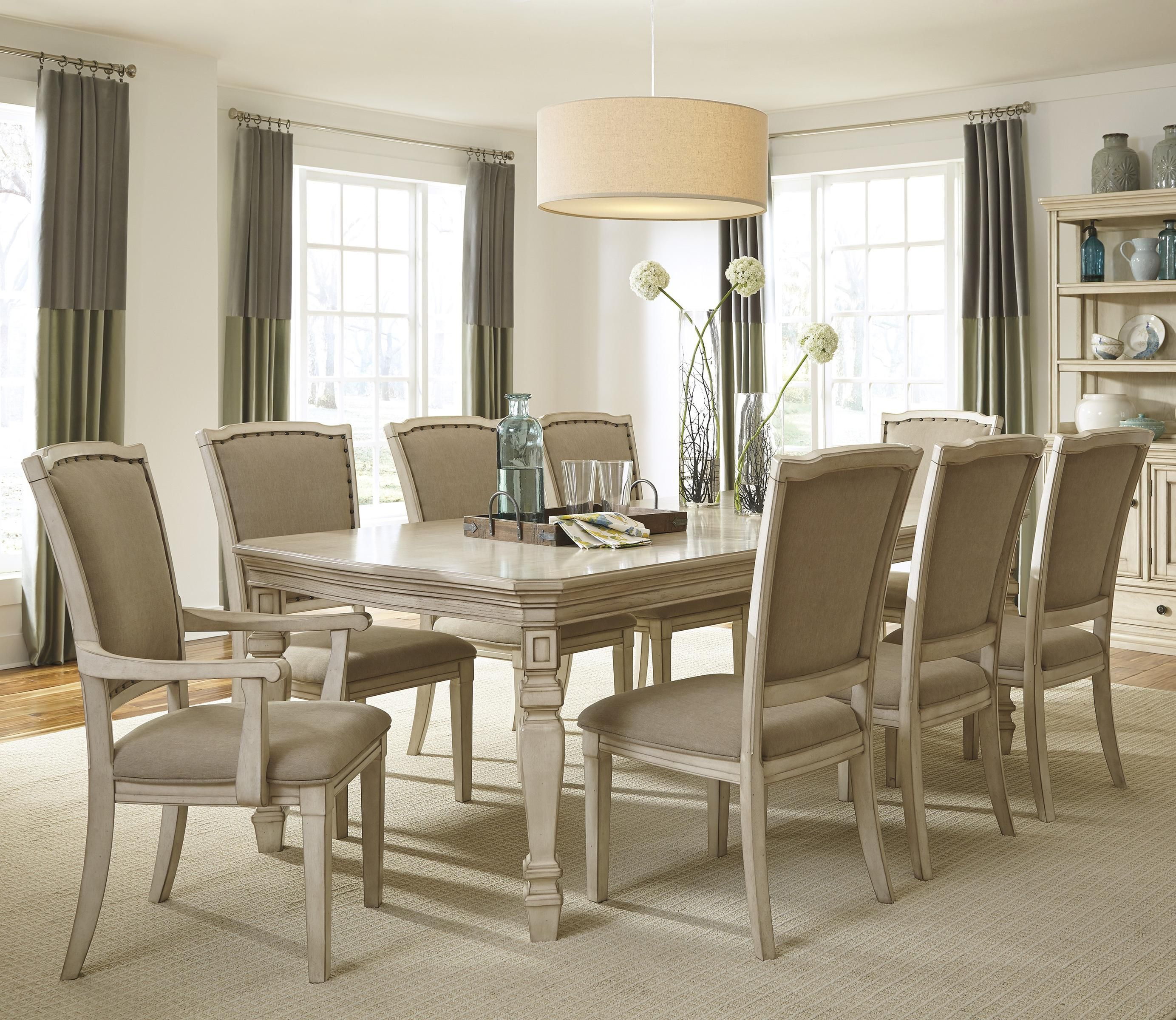 Demarlos 9-Piece Extension Table Set By Signature Design