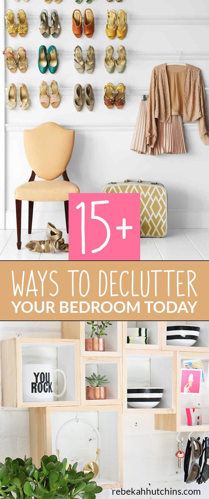 declutter your bedroom with these 17 organization ideas for small