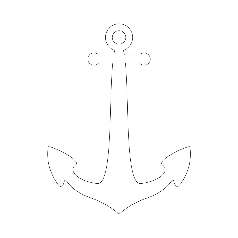 Anchor Stencil