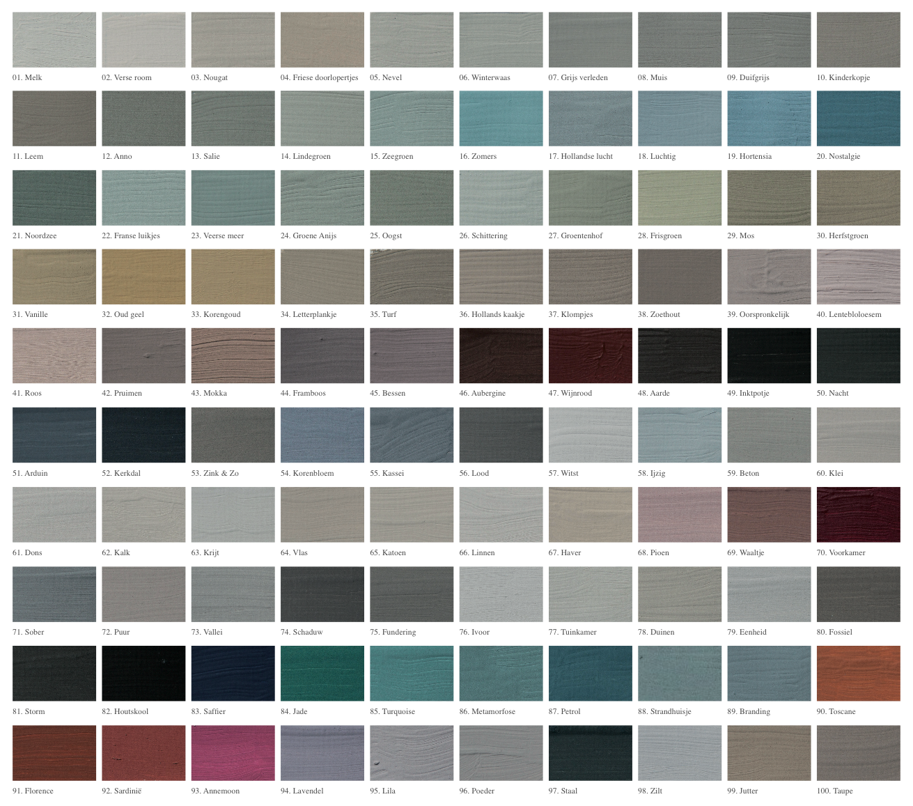 Lauthentique krijtverf kleurenkaart lauthentique chalk paint lauthentique krijtverf kleurenkaart lauthentique colour chartmilk nvjuhfo Choice Image