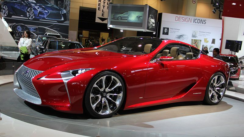 Lexus resurrecting SC name for big, expensive coupe