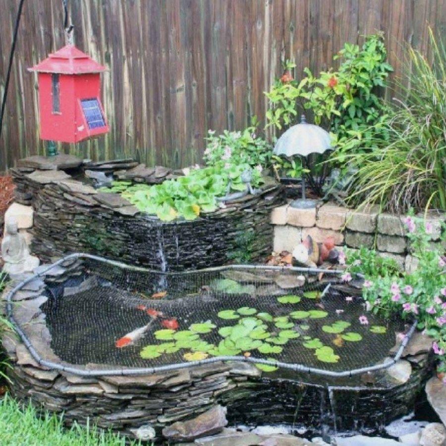 29 Beautiful Diy Koi Pond Ideas You Can Create Yourself To