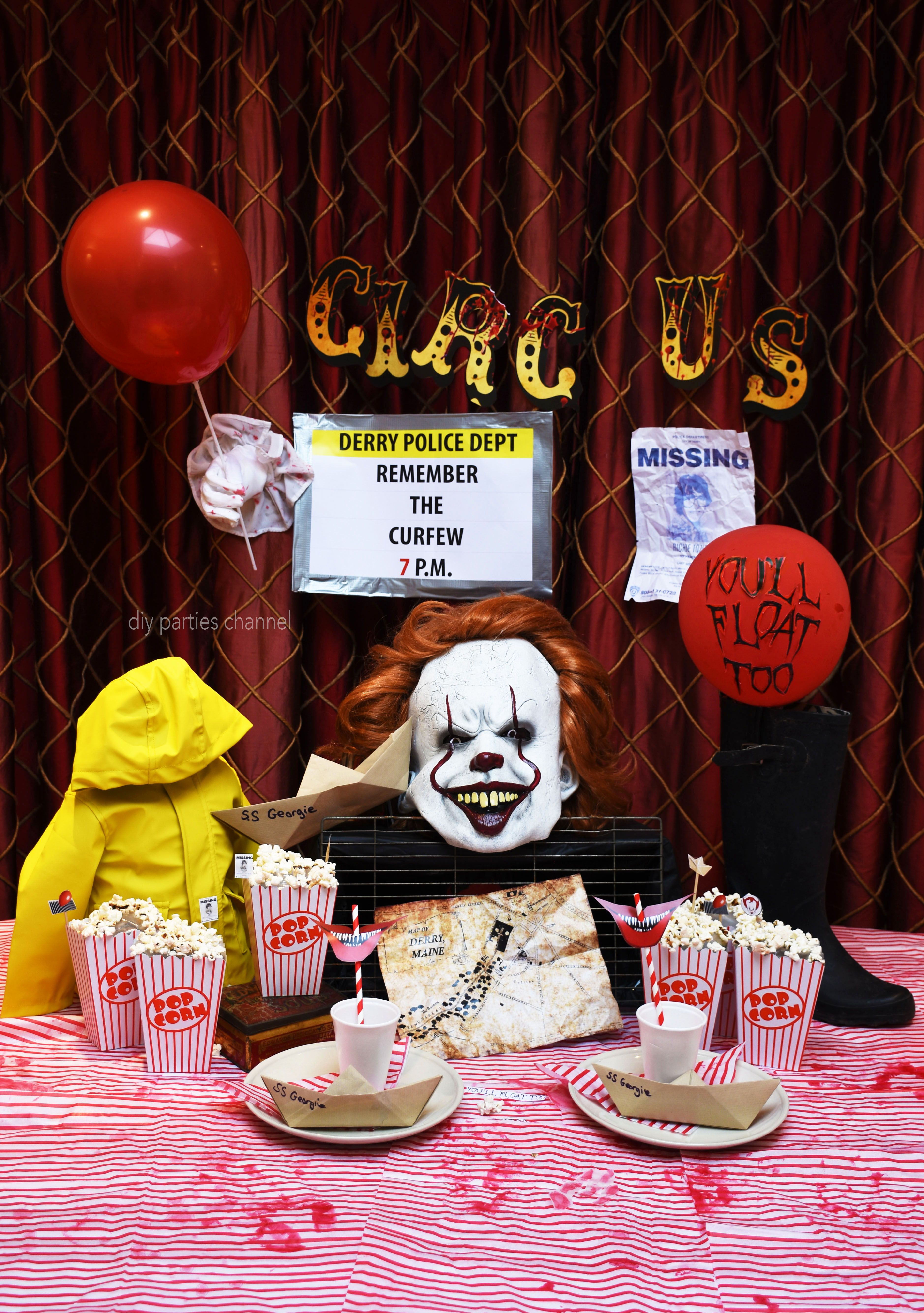 2017 Themes Party Halloween