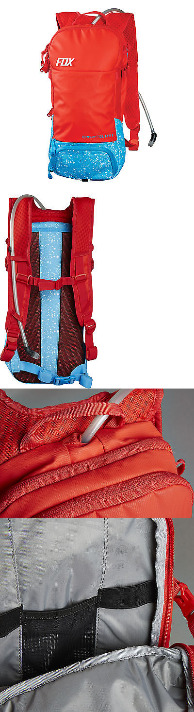 Hydration Packs 27952: Fox Racing Convoy Hydration Pack Red BUY IT NOW ONLY: $119.95