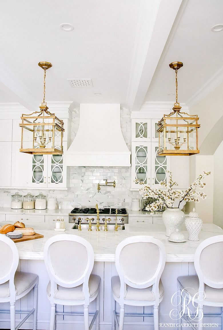 Elegant White Kitchen Cabinets: Dark To Light Kitchen Before And After