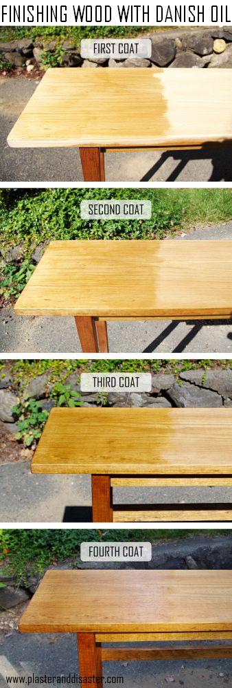 Finishing Wood With Danish Oil Plaster Disaster Wood Oil Finish Danish Oil Linseed Oil On Wood