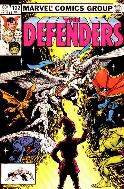 Defenders # 122 by Don Perlin & Brent Anderson