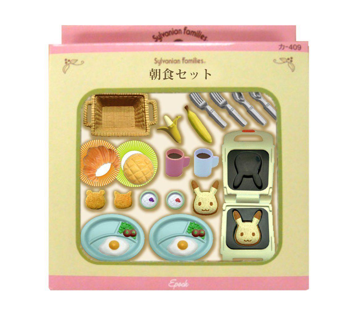 Sylvanian Families Breakfast Set Ka-414 Epoch JAPAN New Japan