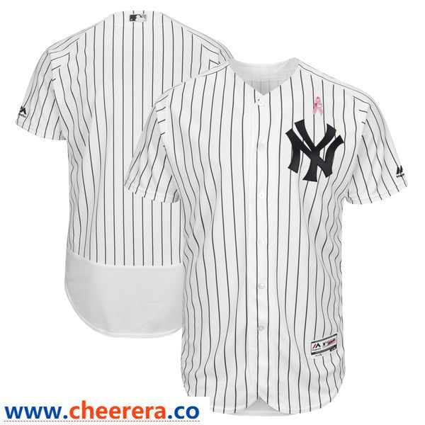 New York Yankees Blank White 2018 Mother S Day Flexbase Jersey New York Yankees Nfl Jerseys